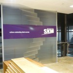 SKM feature wall
