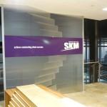 SKM feature wall